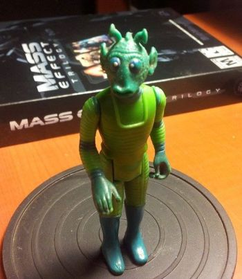Greedo, my very first Star Wars action figure