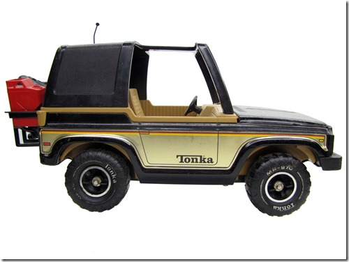 Vintage MR-970 Mighty Tonka Black Jeep Bronco