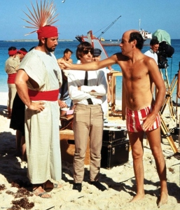 Lester directing Ringo and an