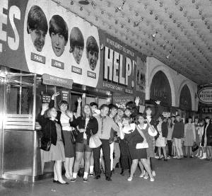 Help! premieres in Chicago, August 25, 1965.