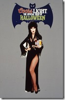 52 Coors Light Elvira Store Display