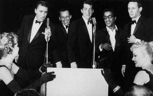 The-Rat-pack-on-stage