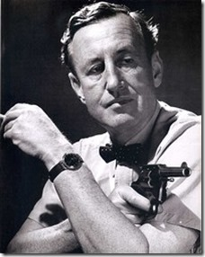 Ian Fleming, 1908-1964. A lot of himself went into James Bond.