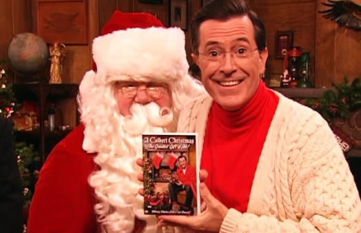 colbert-christmas-the-greatest-gift-of-all-stephen-colbert-dvd-gift-santa-claus-george-wendt