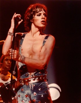 NPG P851; Mick Jagger by Laurie Lewis