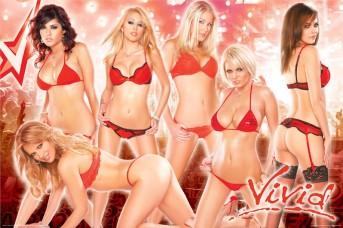 pinup-vivid-video-girls-red-poster-AQU24804