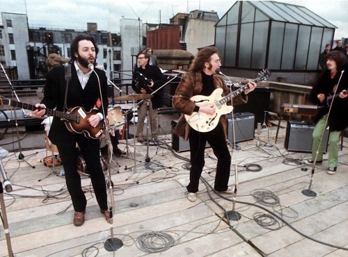 The Beatles' Rooftop Concert in 1969 (1)