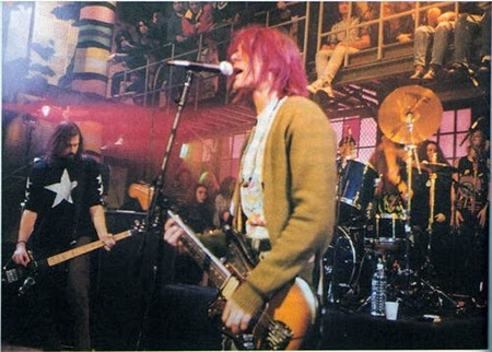 Nirvana - Live @ MTV Studios, New York, USA, 10-01-1992