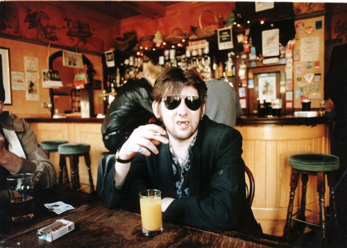 Shane Macgowan Lead Singer Of The Pop Group The Pogues